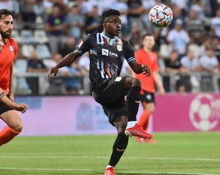 Ghanaian forward Prince Obeng Ampem opens scoring account in Croatia as HNK Rijeka draw with Hrvatski Dragovoljac at away
