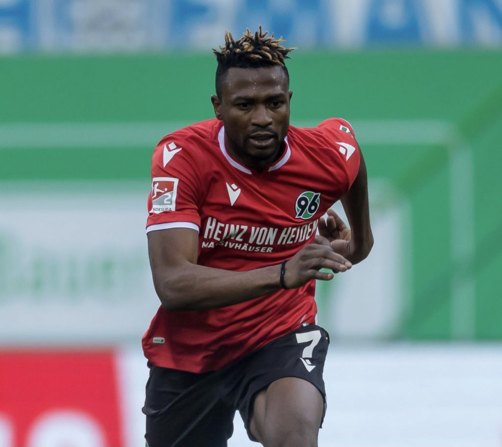 Out-of-favour Hannover forward Patrick Twumasi attracts interest from the Gulf