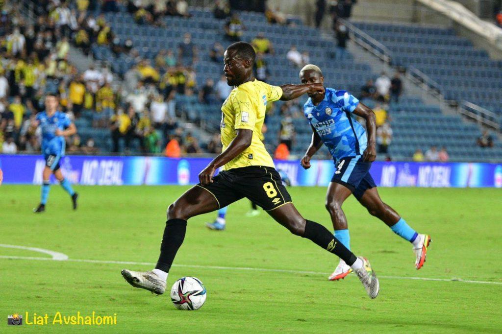 Ghana midfielder Edwin Gyasi's brilliance helps Beitar Jerusalem secure a draw against Maccabi Netanya