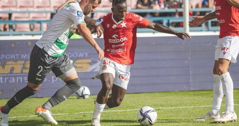 Wisla Krakow star Yaw Yeboah confident ahead of clash against Ekstraklasa leaders Lech Poznan