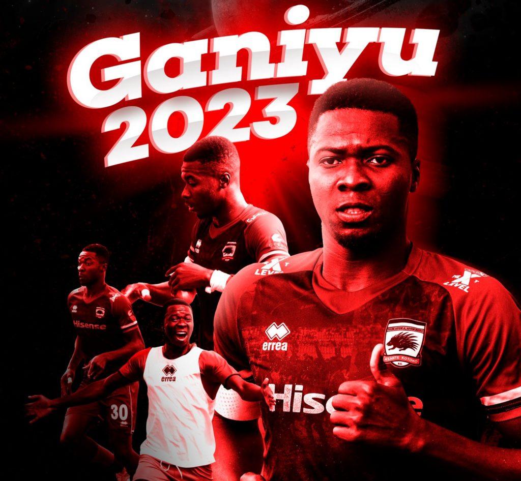 Stalwart defender Abdul Ganiu Ismail extends contract at Asante Kotoko until 2023