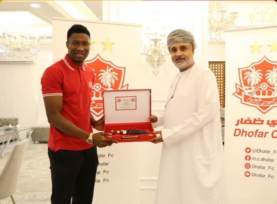 Ghanaian striker Sadam Sulley completes move to Dhofar Club in Oman