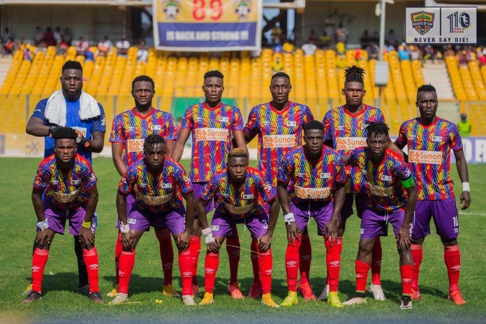 CAF Confederations Cup: Hearts of Oak to host JS Souara in first leg on November 28