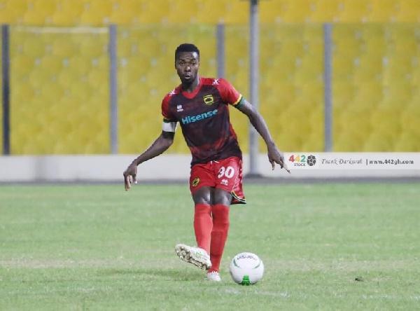 Asante Kotoko new skipper Abdul Ganiu Ismail excited to lead the club