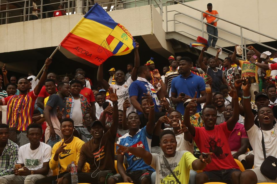 CAF Champions League: Hearts of Oak request to have fans at stadium for Wydad clash