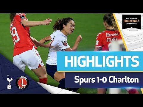 Tang Jiali scores first goal for Spurs!   WOMEN'S LEAGUE CUP HIGHLIGHTS   Spurs 1-0 Charlton