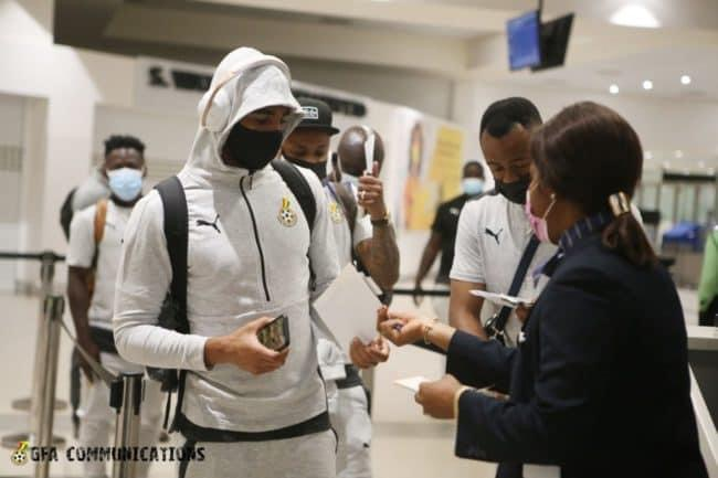 Ghana vs Zimbabwe: Black Stars jets off to Harare ahead of 2022 World Cup qualifier