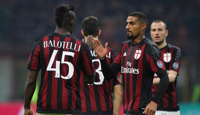 Ghanaians Kevin-Prince Boateng and Mario Balotelli tease each other on Instagram