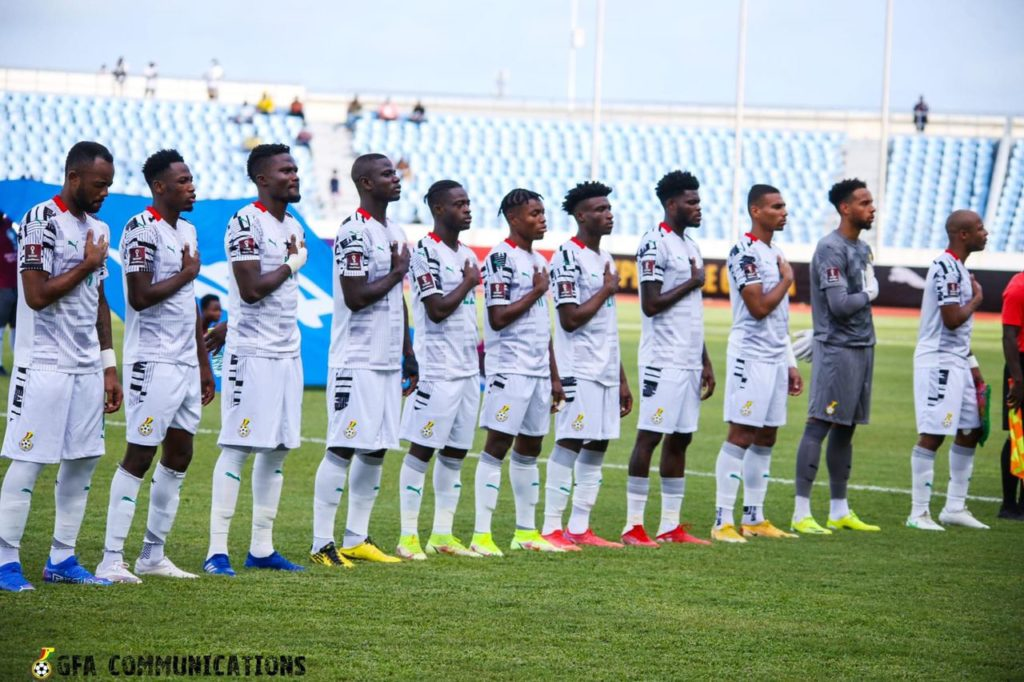 Black Stars move one place up in FIFA Ranking table