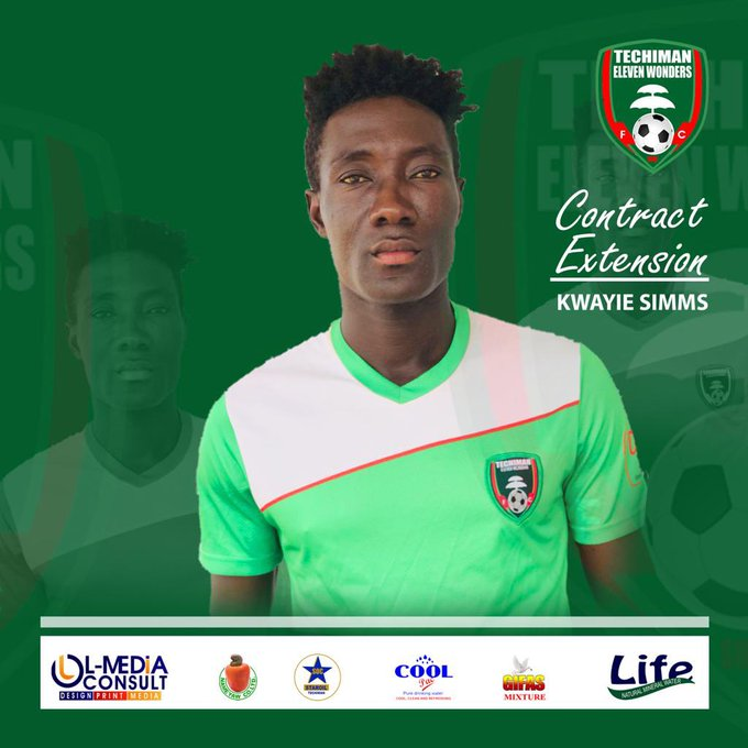 Boost for Eleven Wonders as captain Kwayie Simms pens two-year contract extension