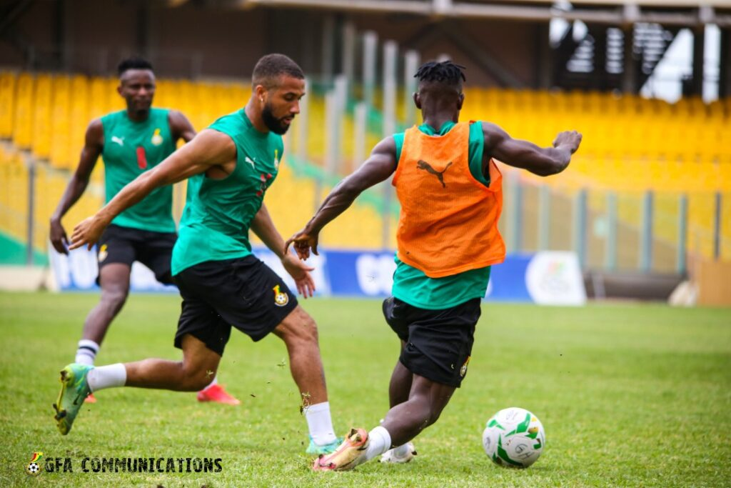 Black Stars to train on Monday ahead of Zimbabwe clash in Harare