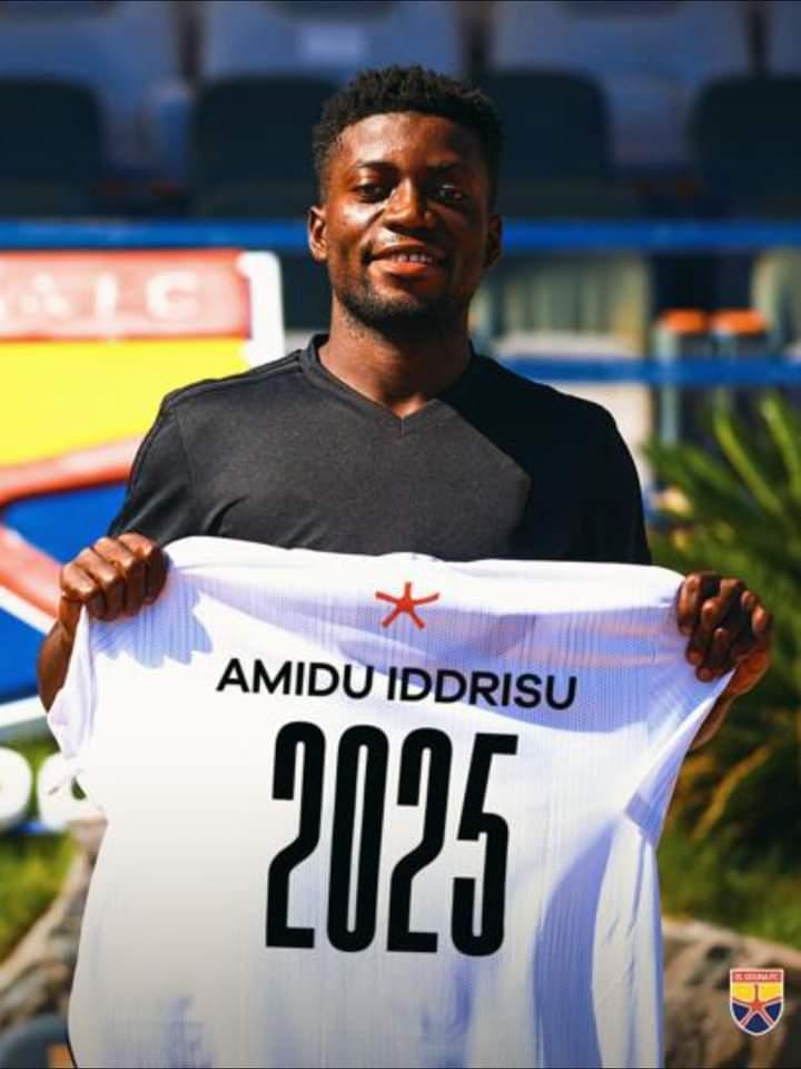 Egyptian club El Gouna sign highly-rated Ghanaian forward Amidu Iddrisu from Cheetah FC