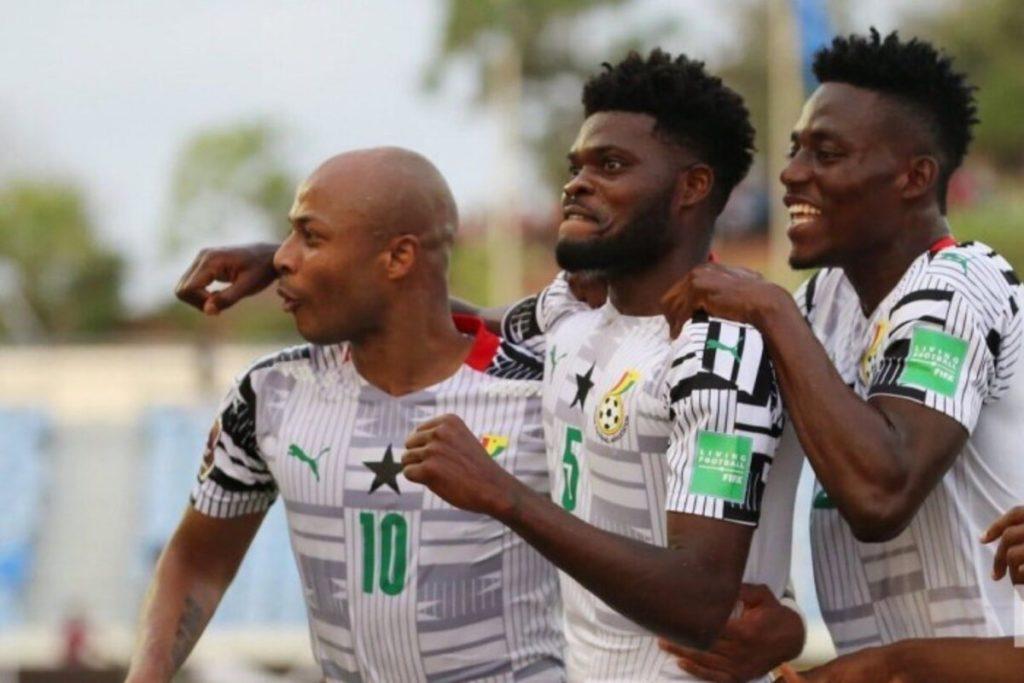 Thomas Partey hailed on Twitter after scoring winner as Ghana beat Zimbabwe again