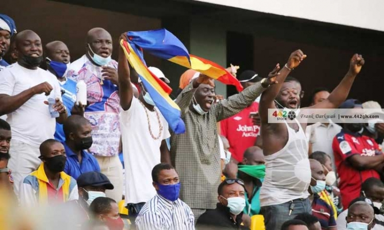 CAF grants request for 2000 fans to watch Hearts of Oak vs Wydad Athletic CAF Champions League game