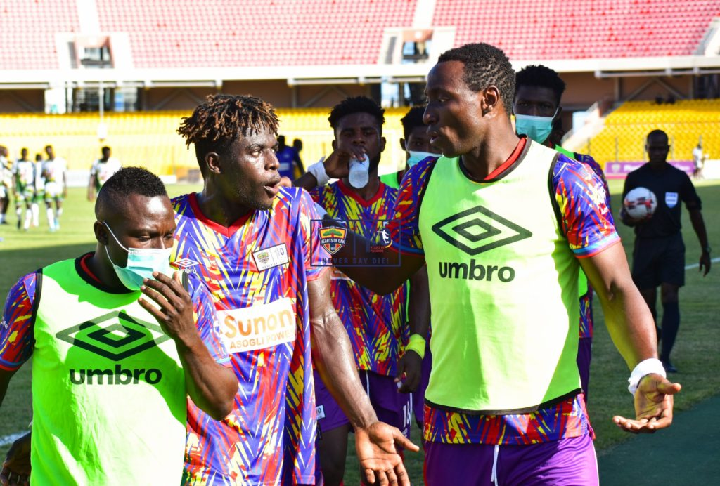 Hearts of Oak make light work of Tema Youth, dispatching second-tier side 4-2 in friendly