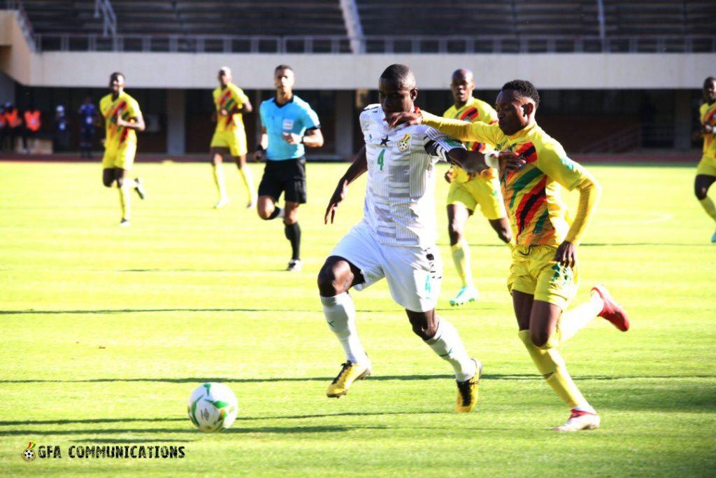 Ghana defender Jonathan Mensah praises Black Stars teammates for 'great' performance against Zimbabwe