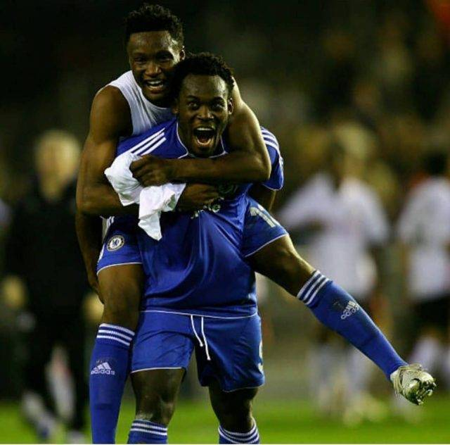 Essien really helped me at Chelsea- Mikel Obi opens up on relationship with former teammate