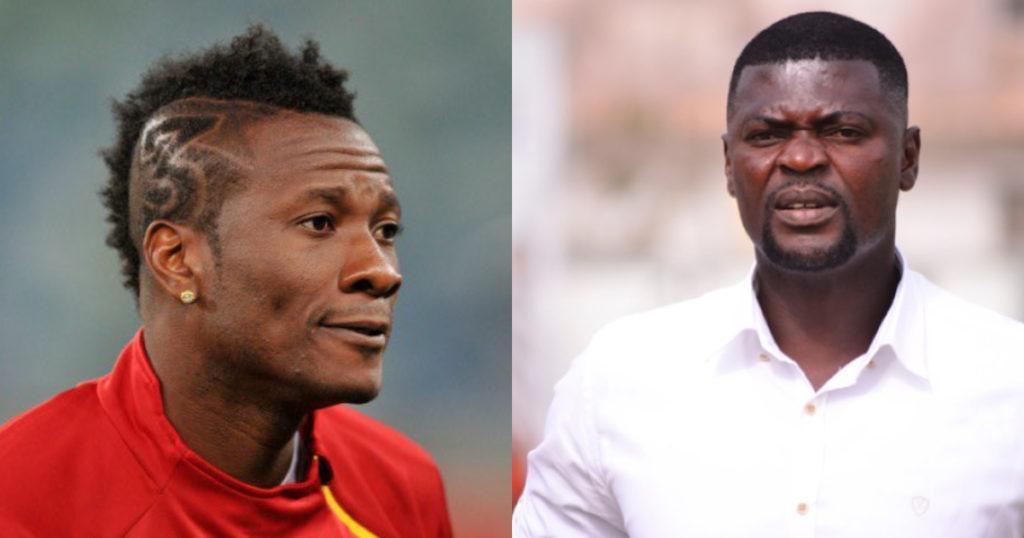 Asamoah Gyan extols Hearts coach Samuel Boadu, insists he is the best in Ghana