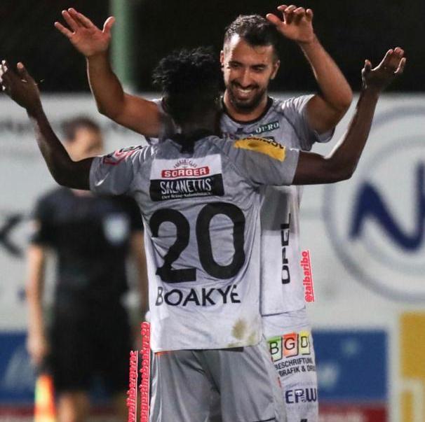 VIDEO: Augustine Boakye scores trademark goal for Wolfsberger II in Austrian third-tier