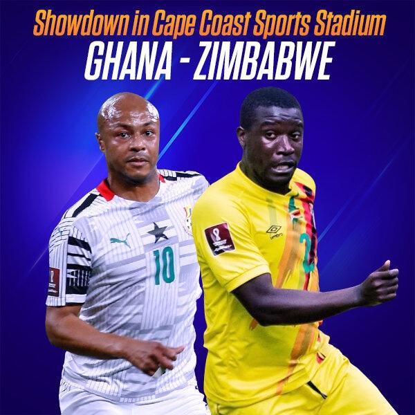 LIVE UPDATES: Ghana 3-1 Zimbabwe (2022 FIFA World Cup Qualifier)