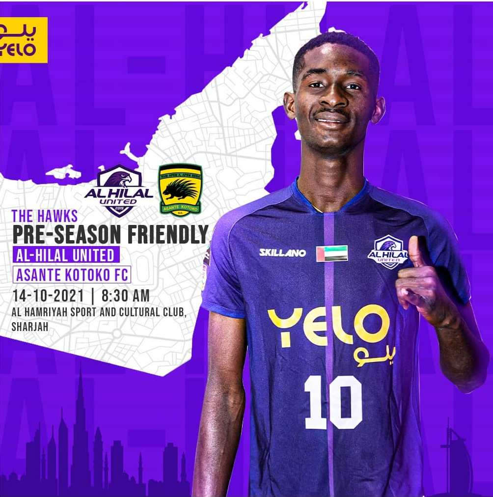 Asante Kotoko to face Al Hilal United in friendly in Sharjah, UAE