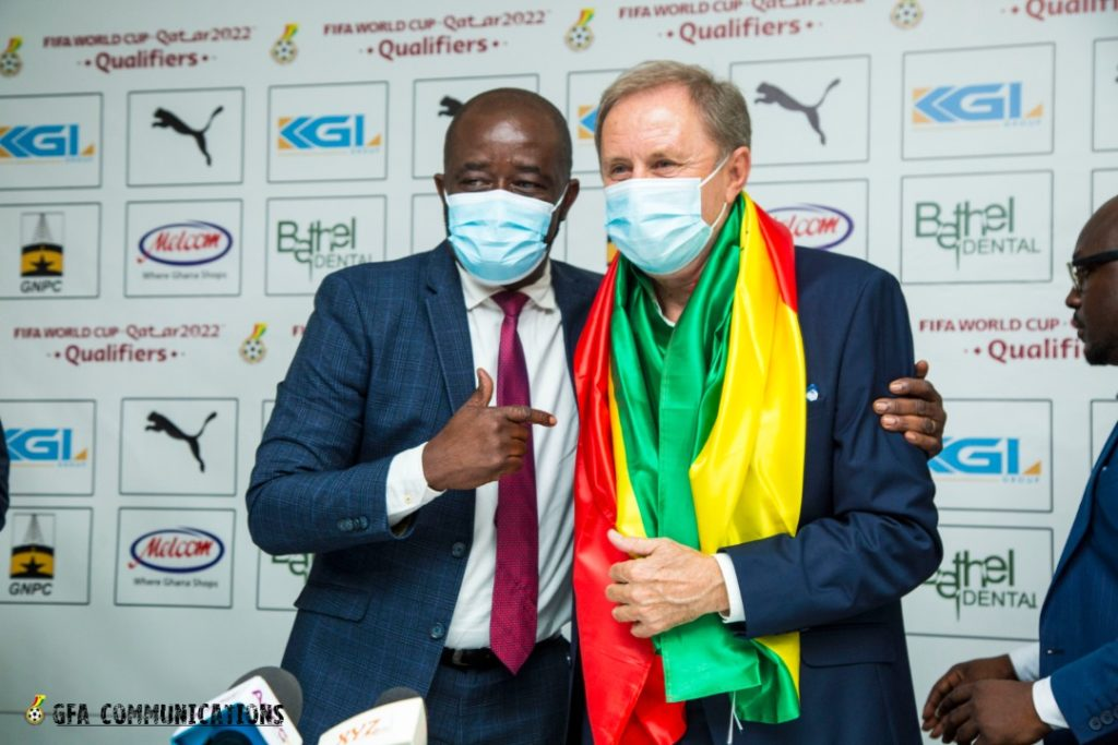 Serbian tactician Rajevac unleashes his magic to revive Ghana's 2022 World Cup hopes