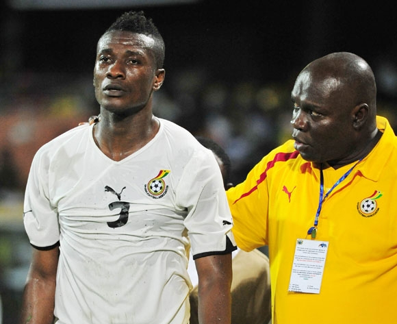 Asamoah Gyan suffers injury in UAE, Ghana anxious