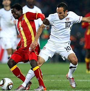 Midfielder Annan is Ghana's key at the World Cup