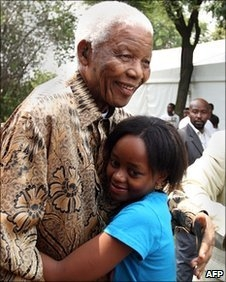 Ghana players invited by Mandela over World Cup performance