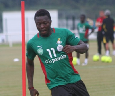 Muntari dropped, Vorsah in for Guinea clash