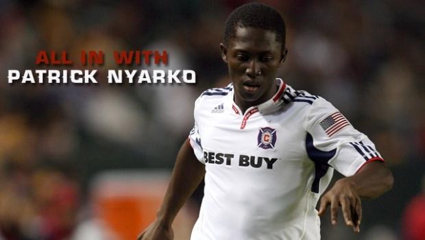 Ghanaian Patrick Nyarko open to USA switch