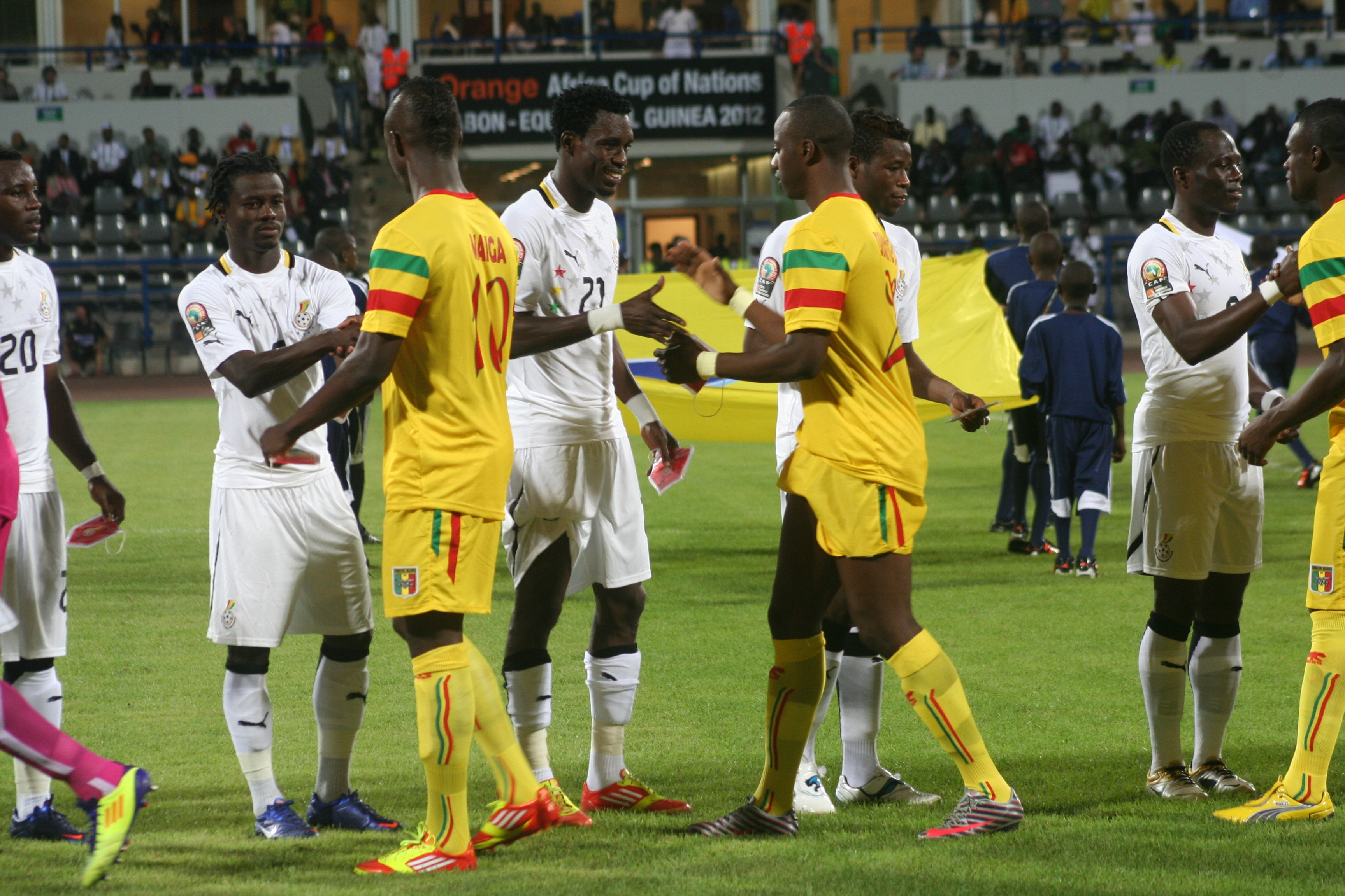 Full time: Ghana 0-2 Mali