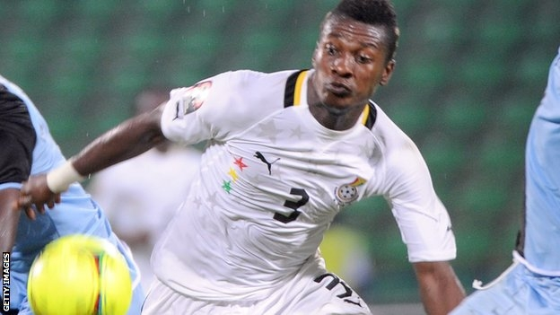 Caf boss Hayatou wants Gyan to return to Black Stars