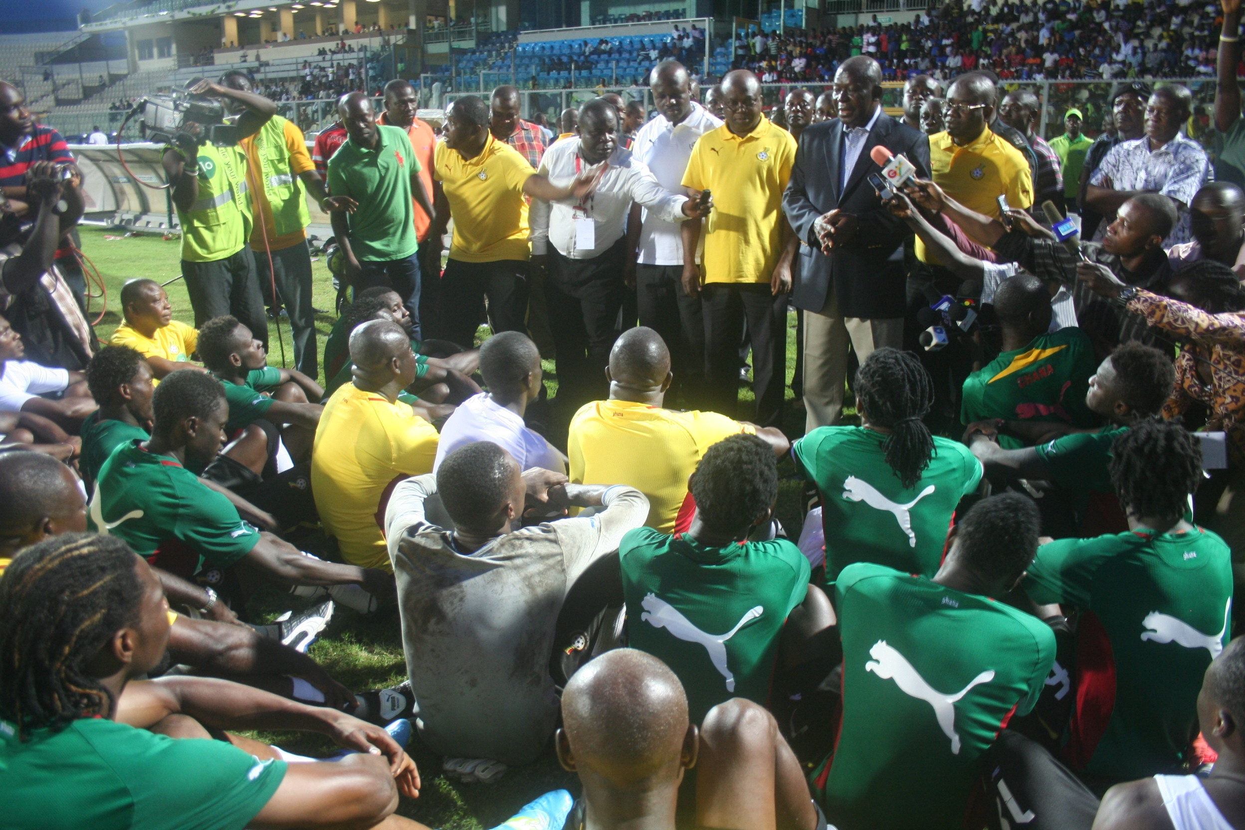 Asantehene boosts Black Stars ahead Lesotho clash