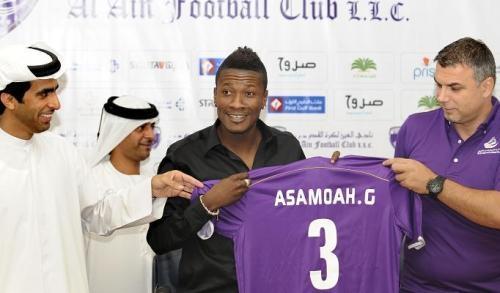Sunderland reach agreement for Gyan's UAE move