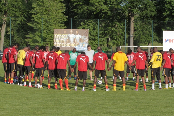 Black Stars to begin camping on Monday