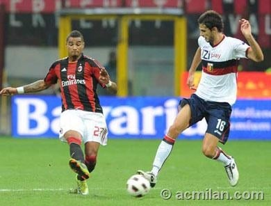 KP Boateng tips AC Milan for Serie A title