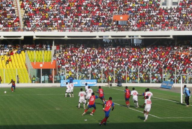 Ghana set for season big game as Kotoko clash with Hearts