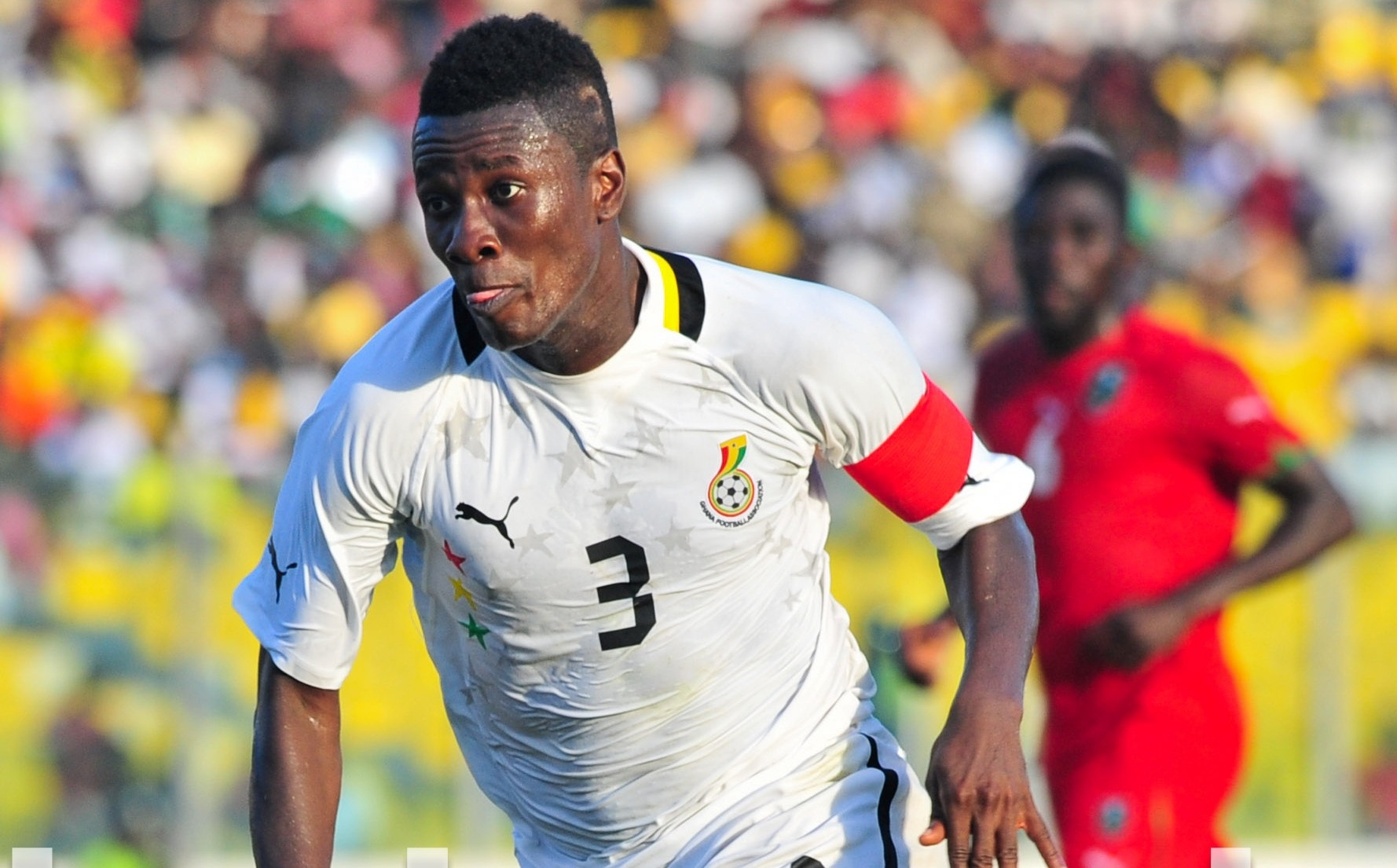 Gyan captains Black Stars for Malawi game