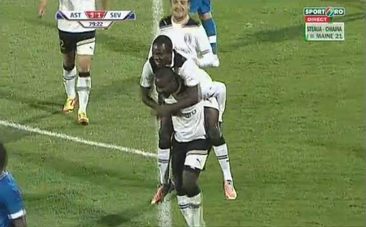 Ghanaian midfielder Yahaya scores for Astra in Romanian Cup