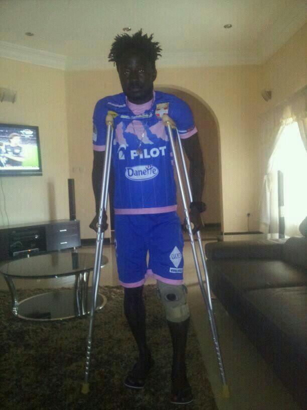 Medeama midfielder Koomson recovering well from injury