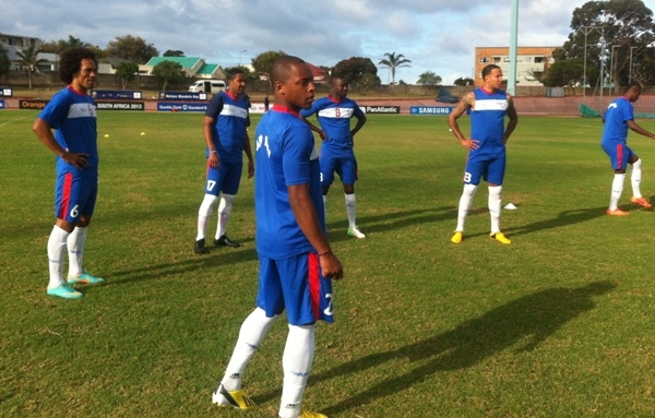 Video: Cape Verde players dance to Asamoah Gyan's song before training